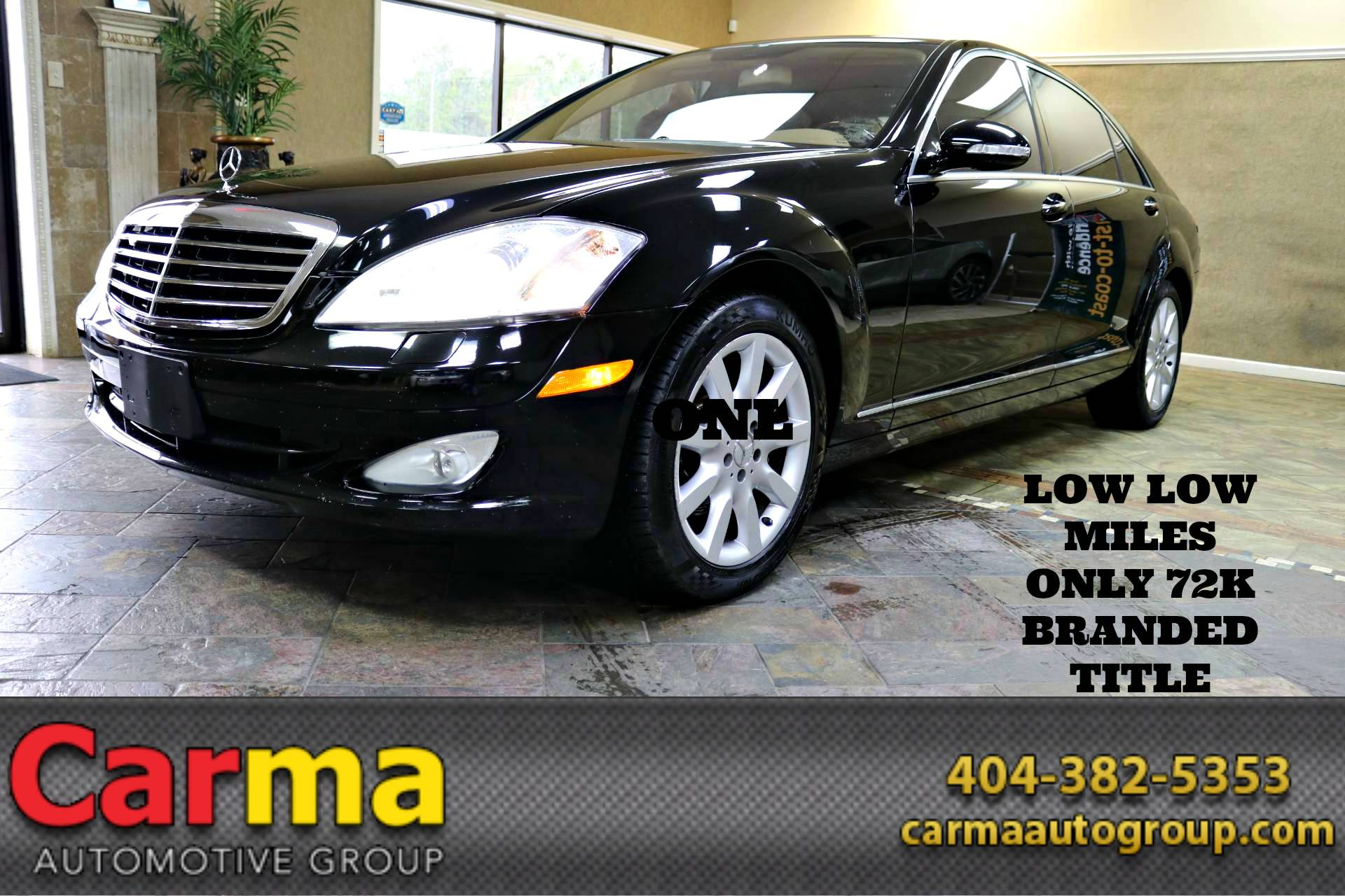 used 2007 mercedes benz s class s550