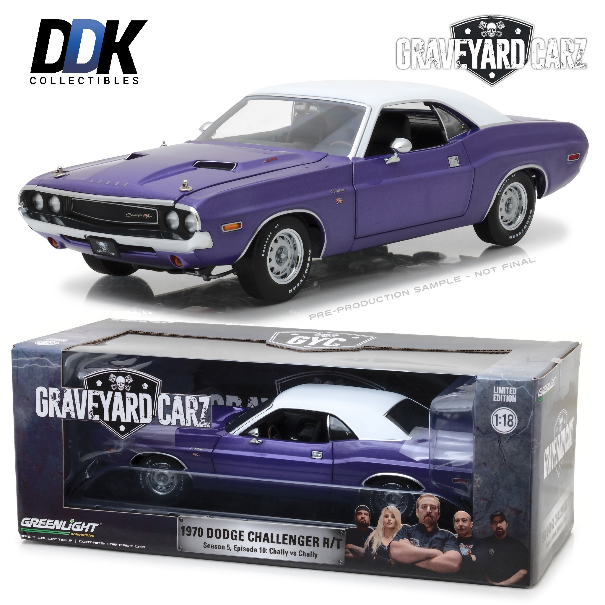 Cars for Sale by Graveyard Carz Elegant Greenlight 1355 1970 Dodge Challenger Rt Graveyard Carz Cast
