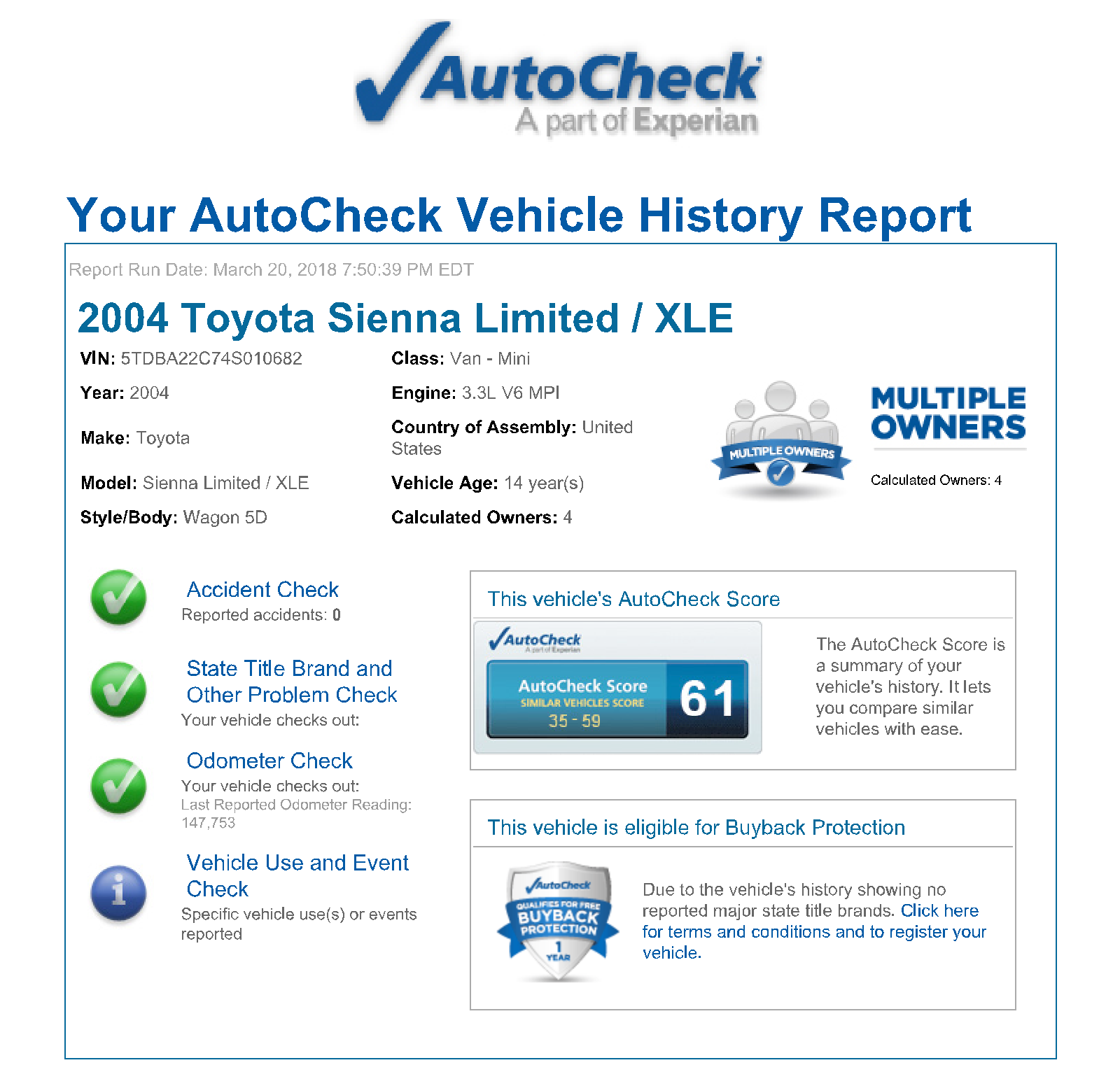 Free Vehicle History Report by Vin Unique Autocheck Vehicle History Reports Vin Check Your Report