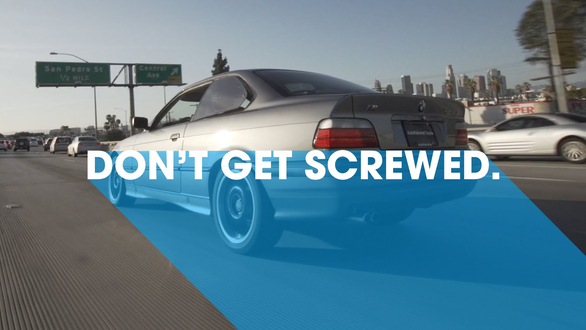dont screwed ing a used car donut media