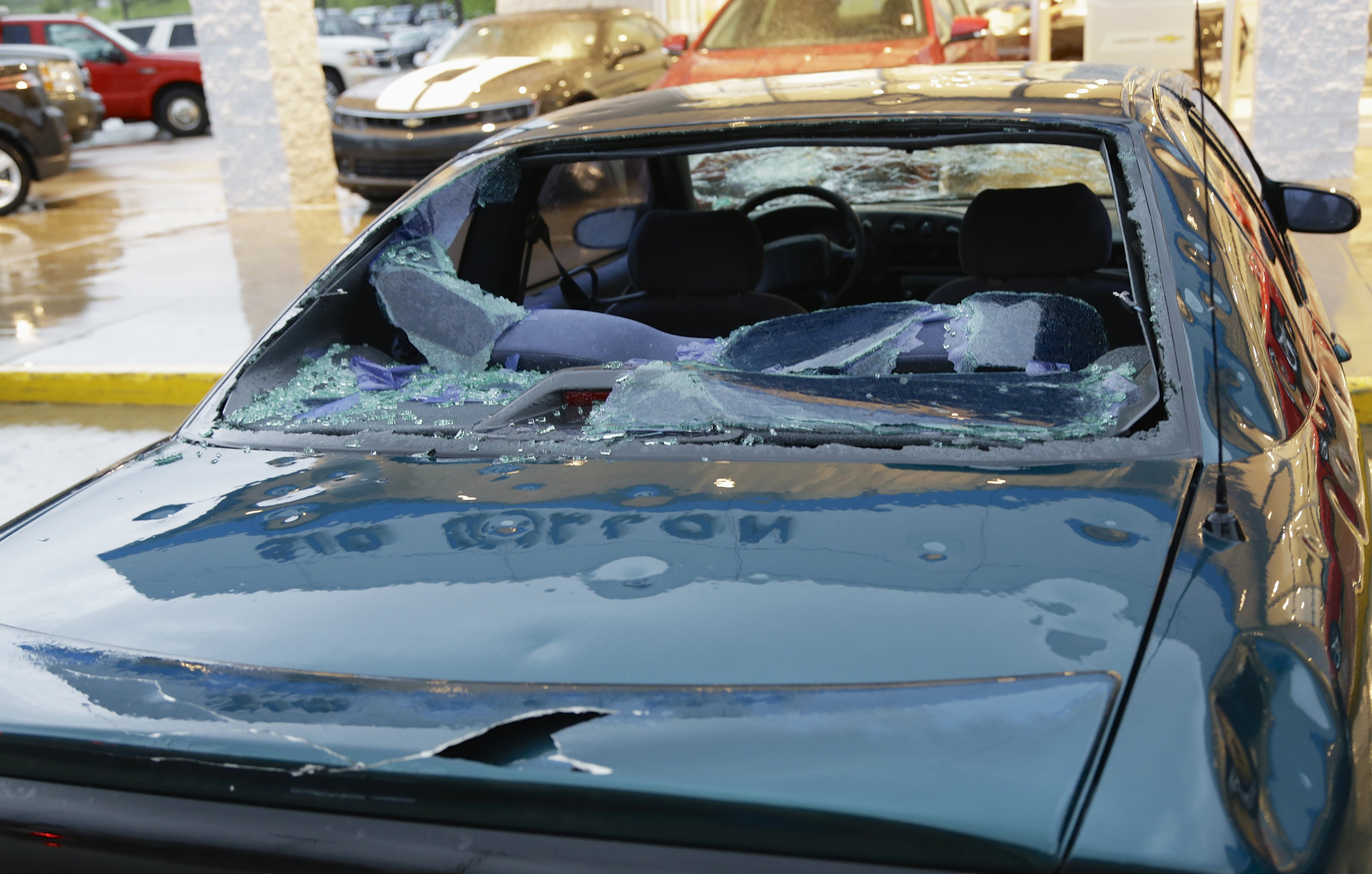 Hail Damaged Cars for Sale Near Me Best Of Video Severe Storms Spark A Region Of Car Hail Sales