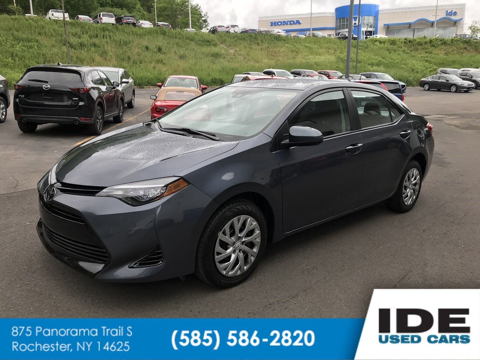 Toyota Used Cars Awesome Pre Owned 2017 toyota Corolla Le 4dr Car In Rochester Uh7883