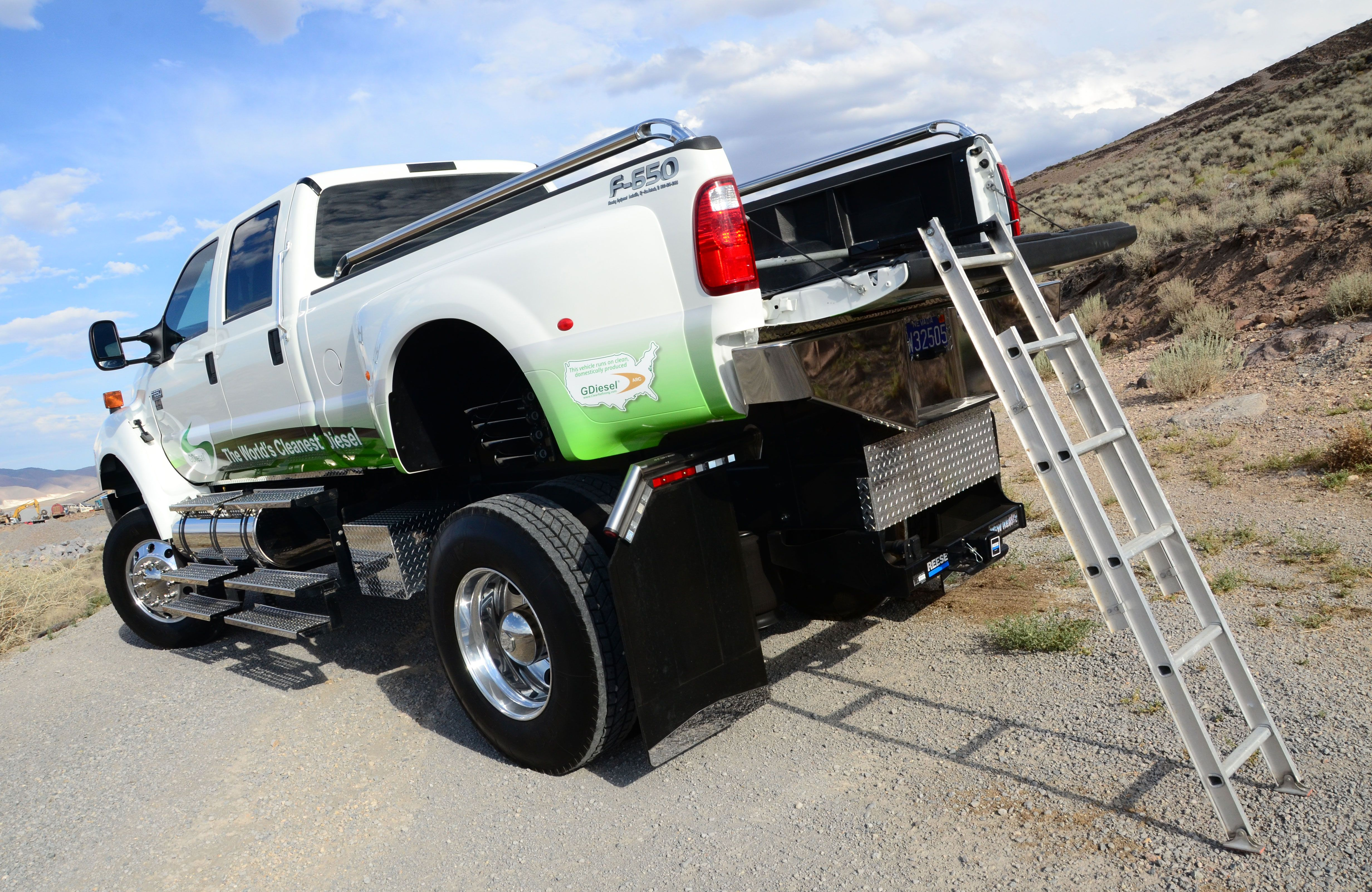 Use Truck Luxury which Alternative Fuel Should You Use In Your Work Truck Photo