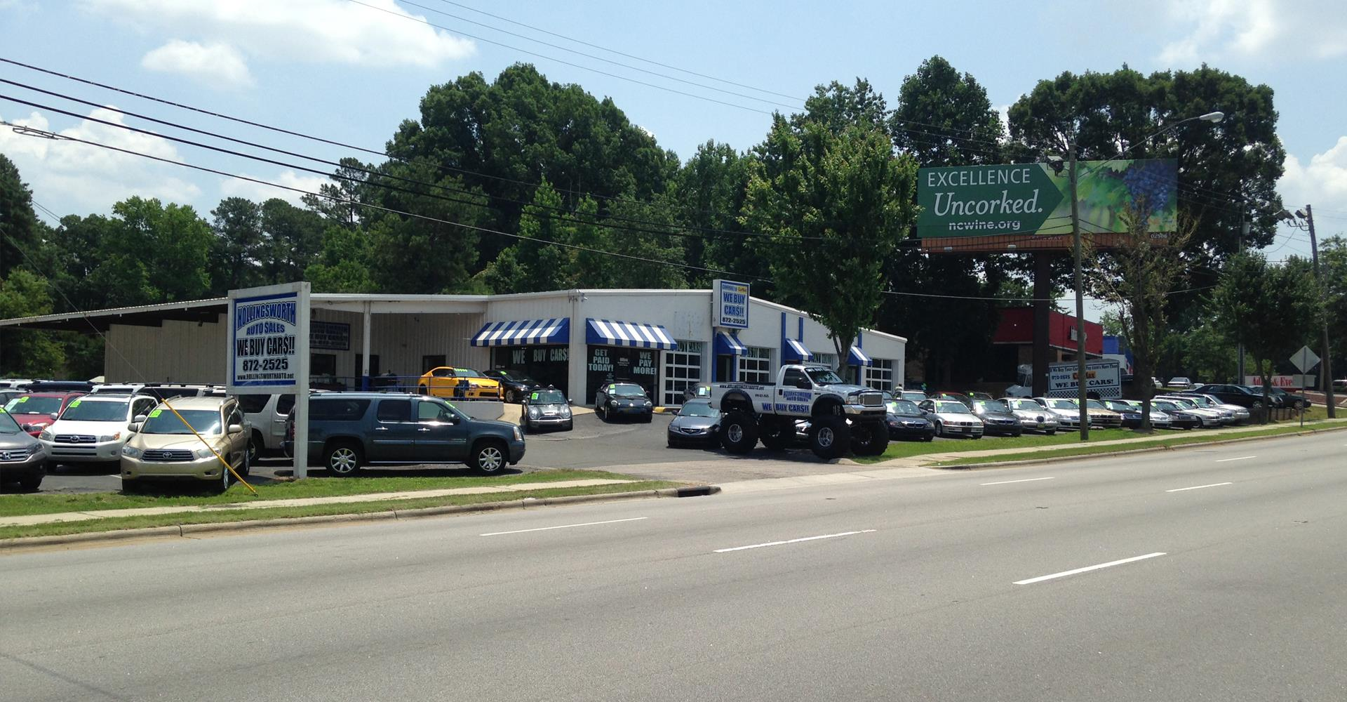 Used Car Dealer Near Me New Hollingsworth Auto Sales Of Raleigh Raleigh Nc