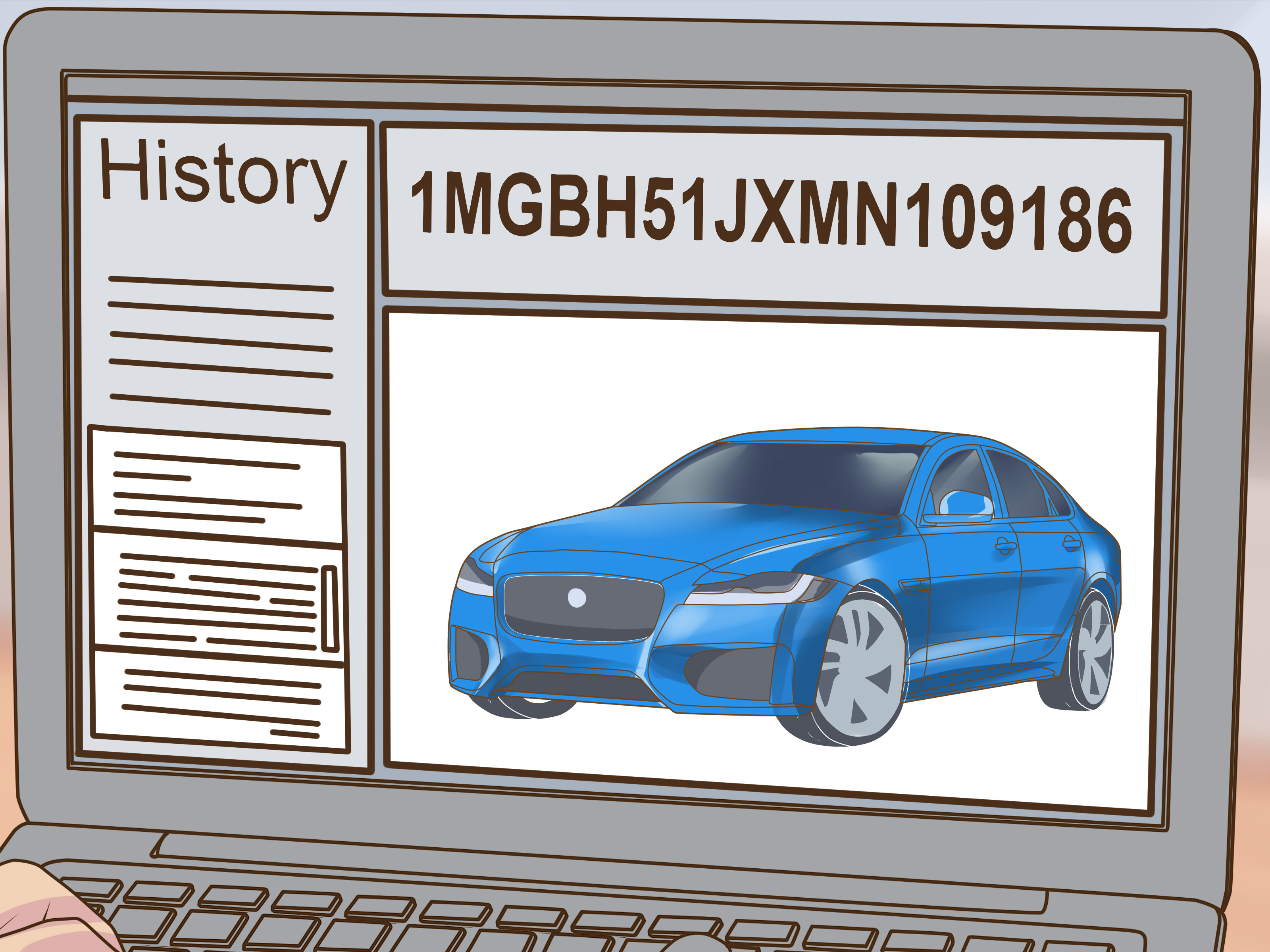 how to use a vin number to check a car s options