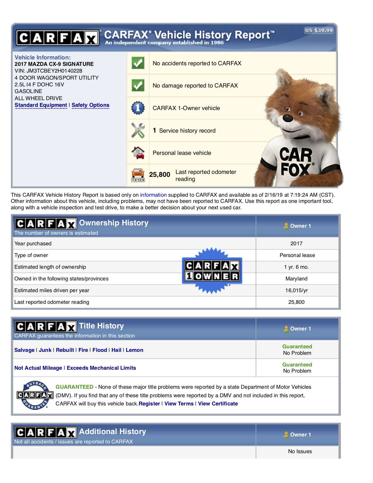 Carfax Vehicle History Report Best Of Can Anyone Run A Carfax for Me