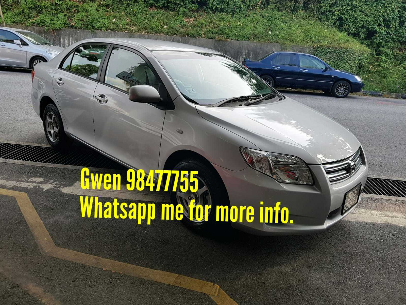Cars for Sale Near Me $800 New Used toyota Corolla Axio Car In Singapore $24 800 Search Used