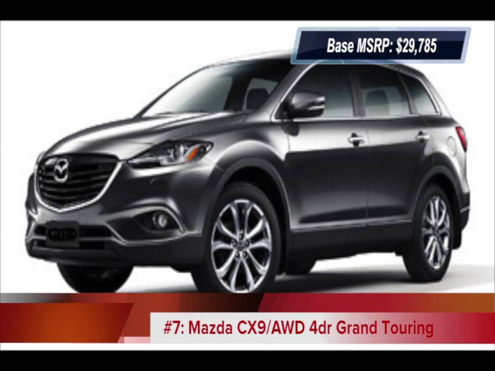suv with third row seating for sale near me