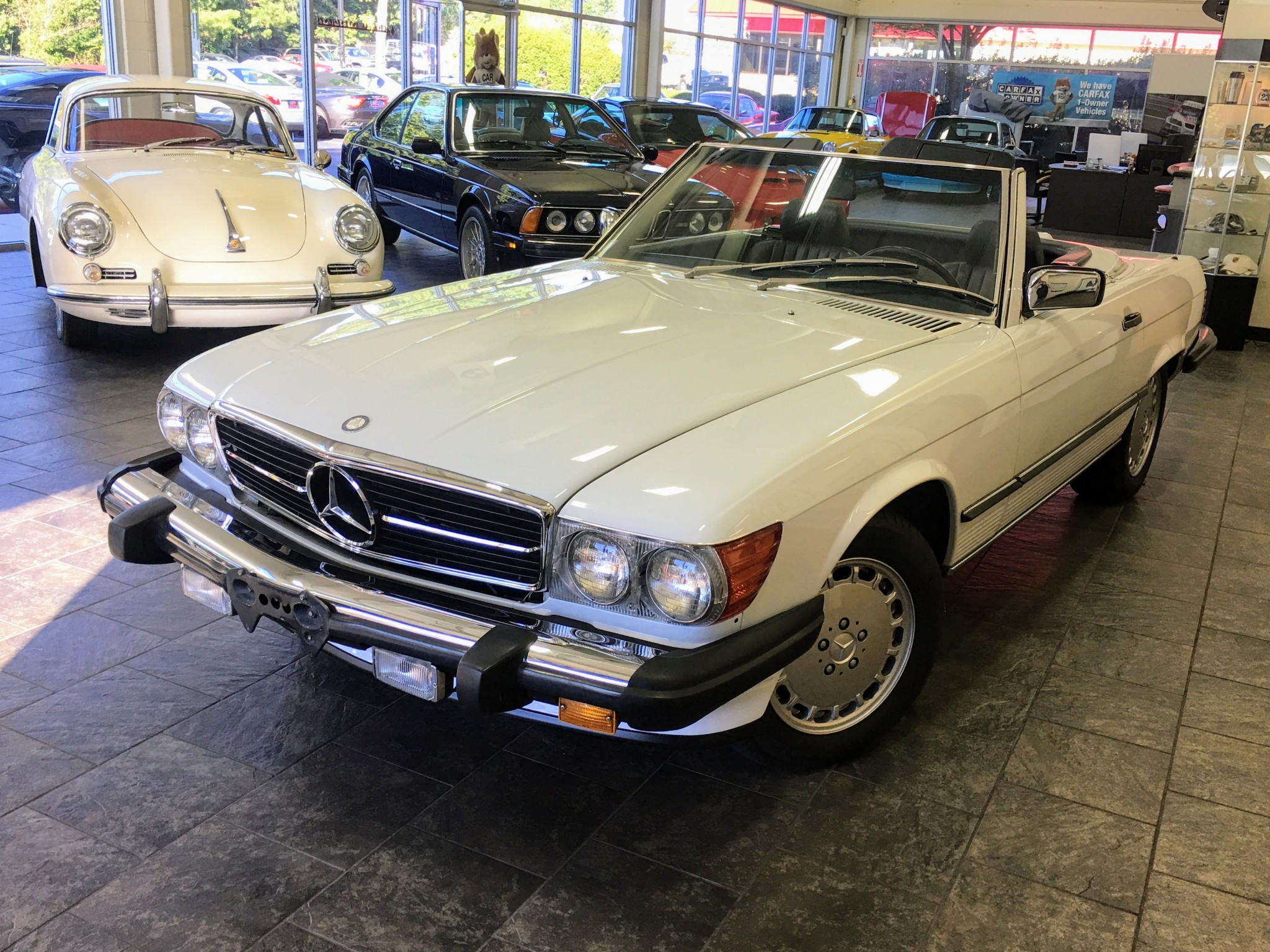 Classic Car Carfax Luxury Mercedes Benz 560sl 1989 and Bring A Trailer Week 46 2017 2877