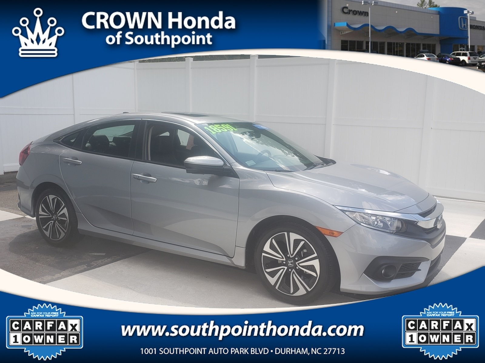 Carfax Used Cars Greensboro Nc New Certified Used 2016 Honda Civic Ex L for Sale In Greensboro Nc