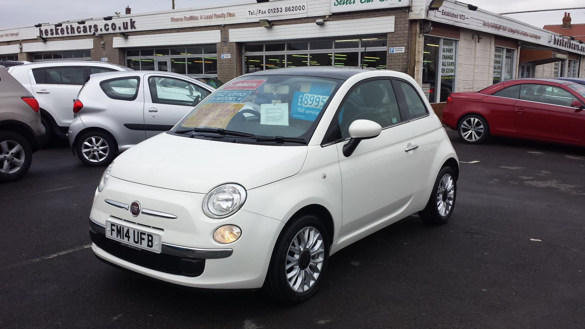 Cars for Sale Near Me 500 Beautiful Used Fiat 500 1 2 Lounge Dualogic Automatic From £7 695