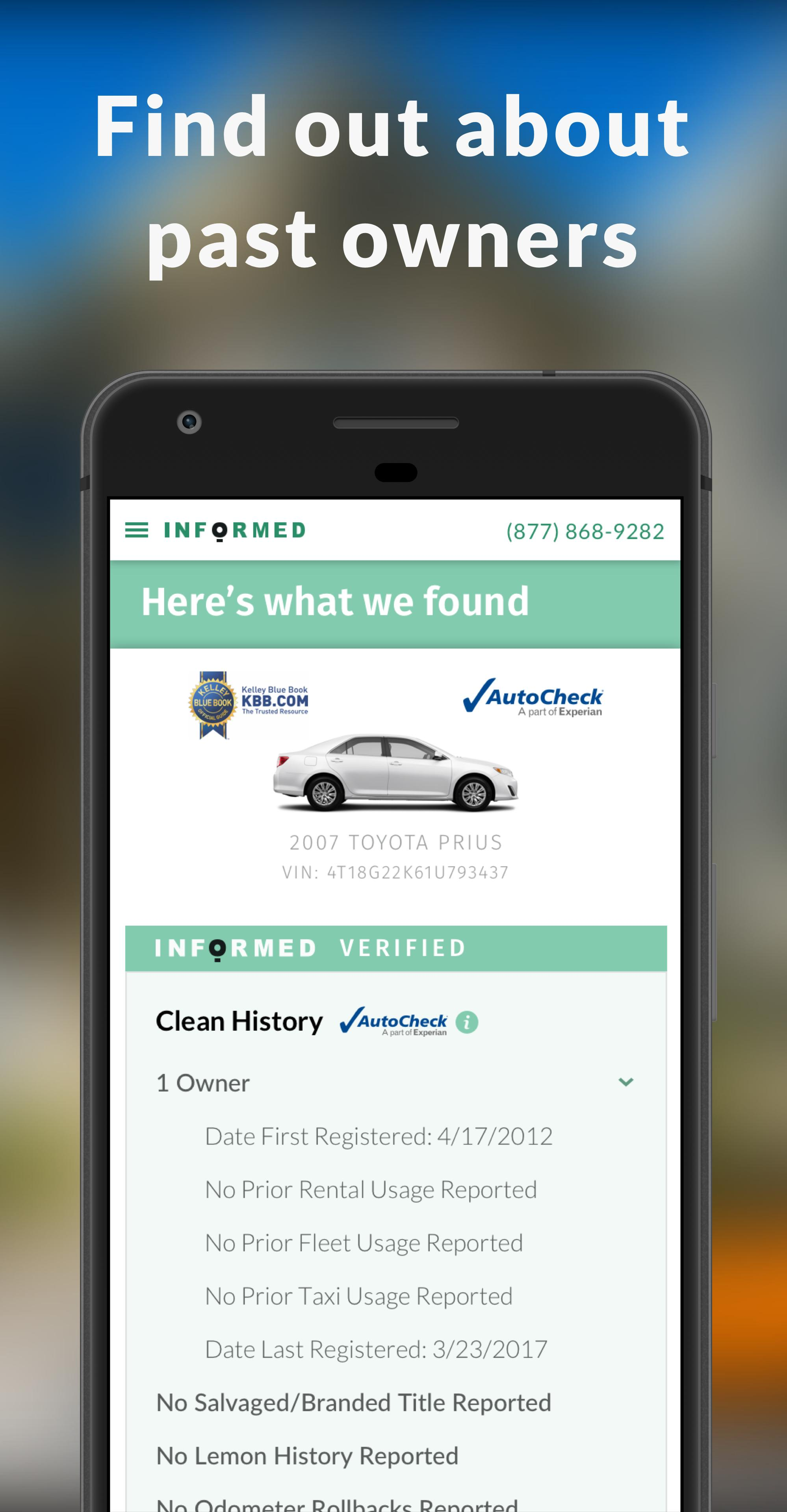 How Do I Get A Carfax Luxury Vin Free Carfax Alternative for android Apk