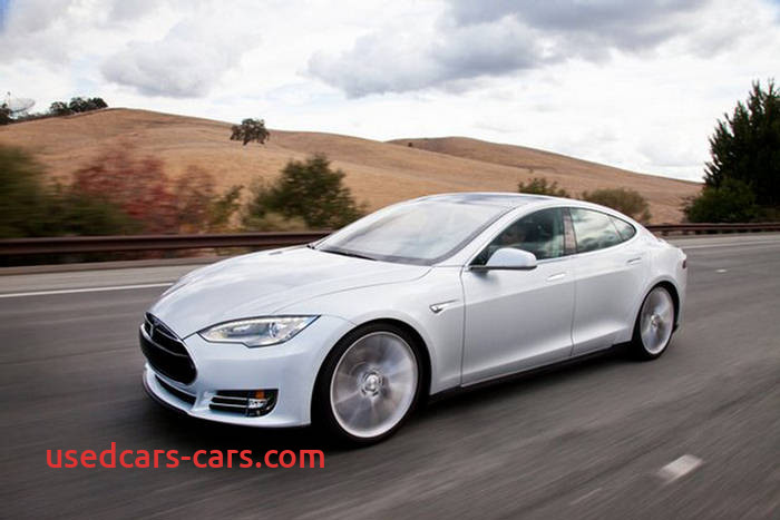 tesla model s all electric car of 2013