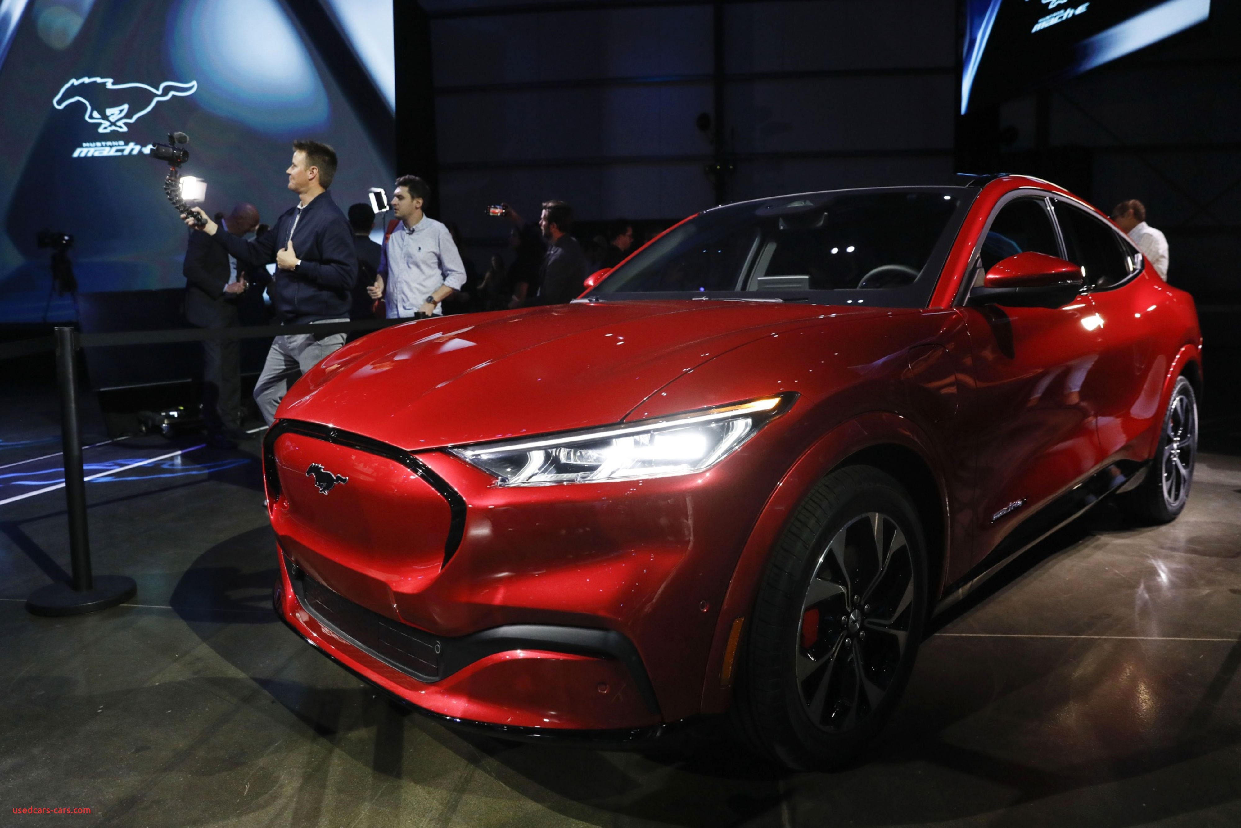ford unveils electric mustangto challenge tesla dominance