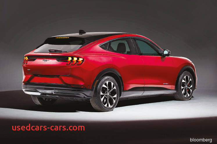Ford Tesla Challenge New ford Unveils Electric Mustang Suv to Challenge Tesla