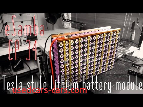How Tesla Batteries are Made Inspirational Tesla Style Battery Module Ep 34 Updated 18650 Ev Youtube