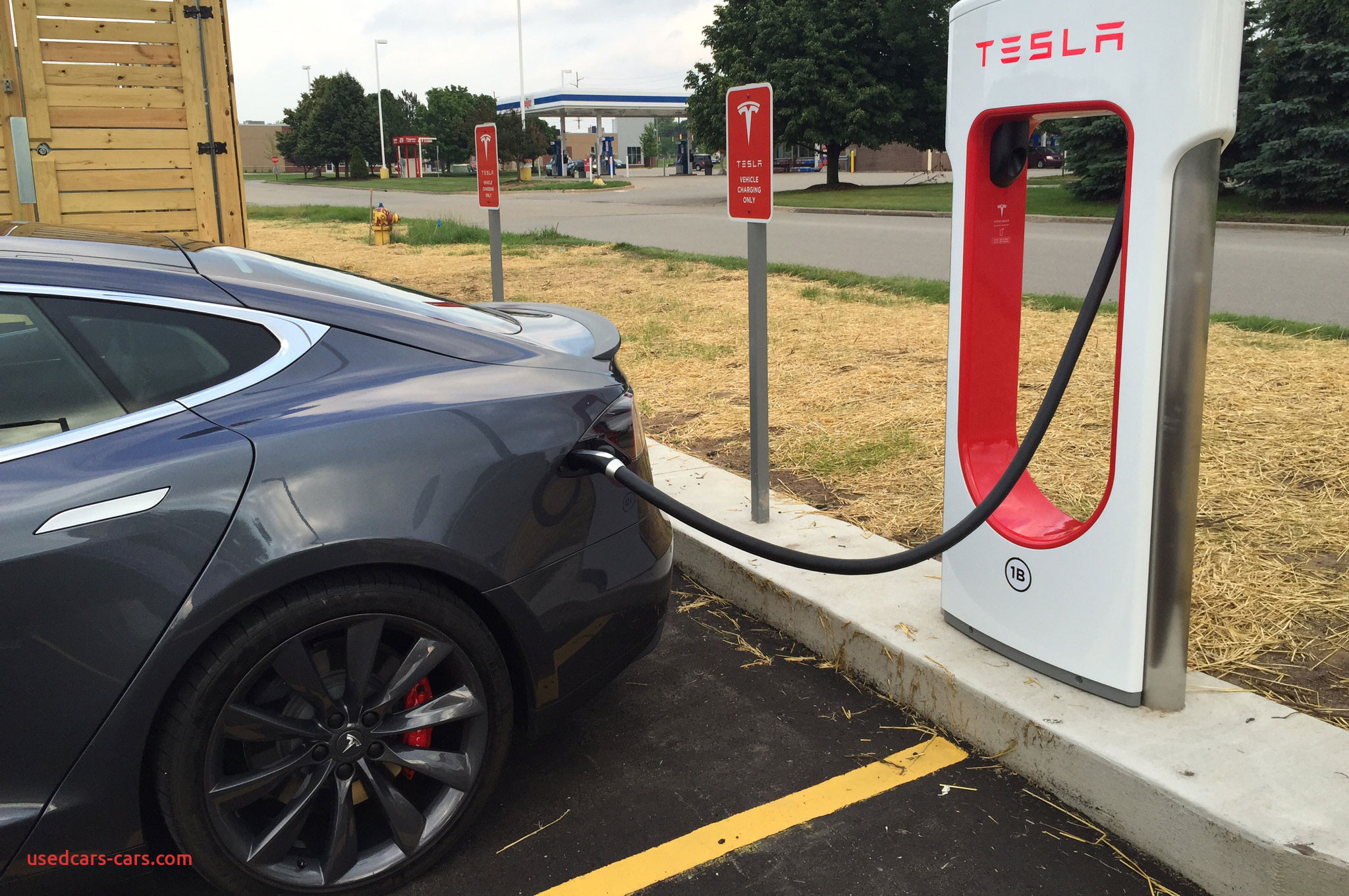 Is Tesla Supercharger Free Best Of Supercharging A Tesla Model S at A Grocery Store
