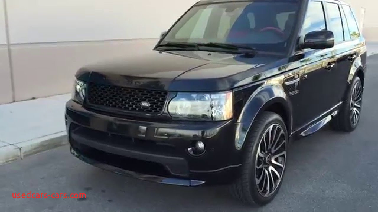 Range Rover Sport Lovely 2013 Land Rover Range Rover Sport Autobiography at