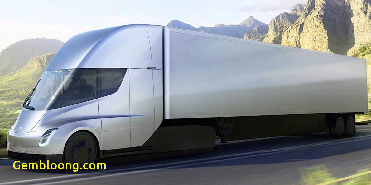 Luxury Tesla 18 Wheeler