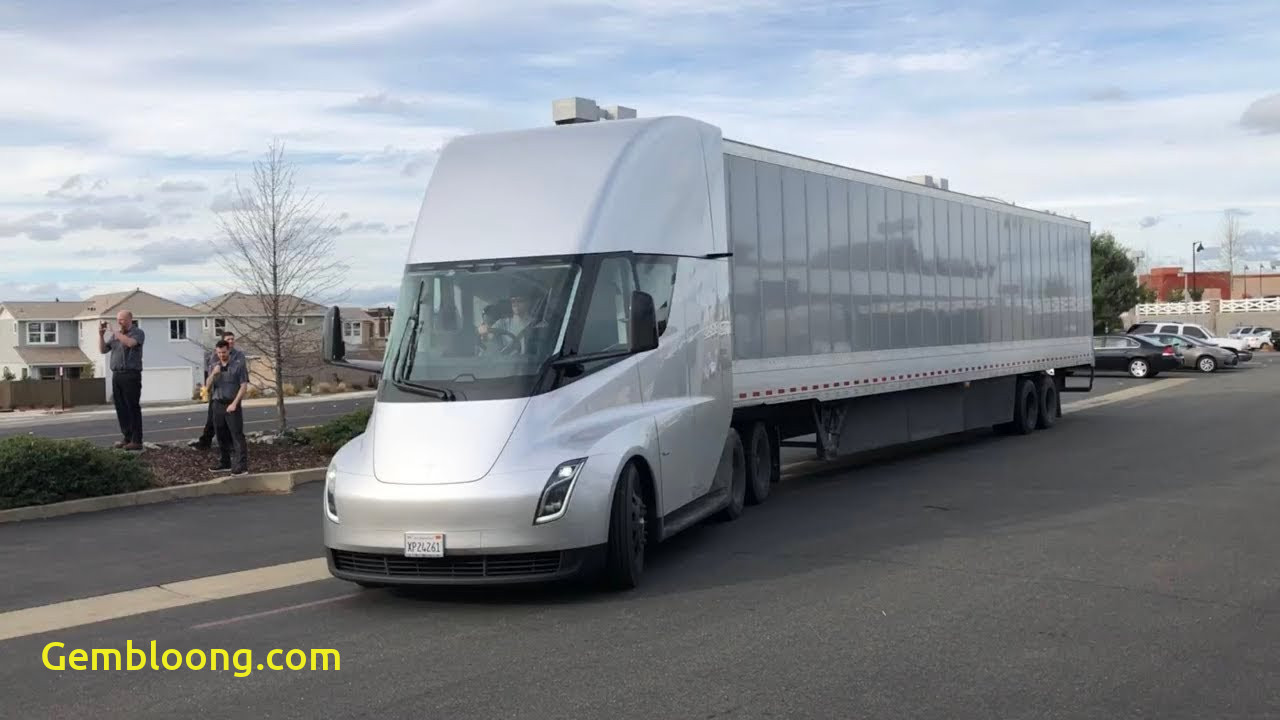 Tesla 18 Wheeler New Tesla Semi In the Wild Youtube