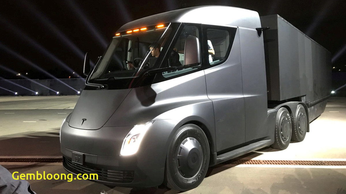 Tesla 18 Wheeler New Teslas Going Big Like 18 Wheeler Big Grist