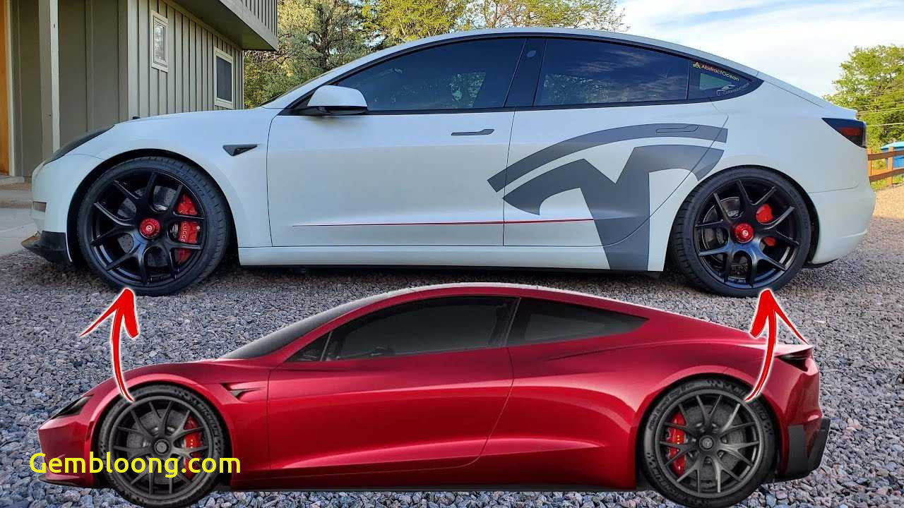 Tesla 2020 Model 3 Fresh How About some 2020 Tesla Roadster Wheels for Your Model 3