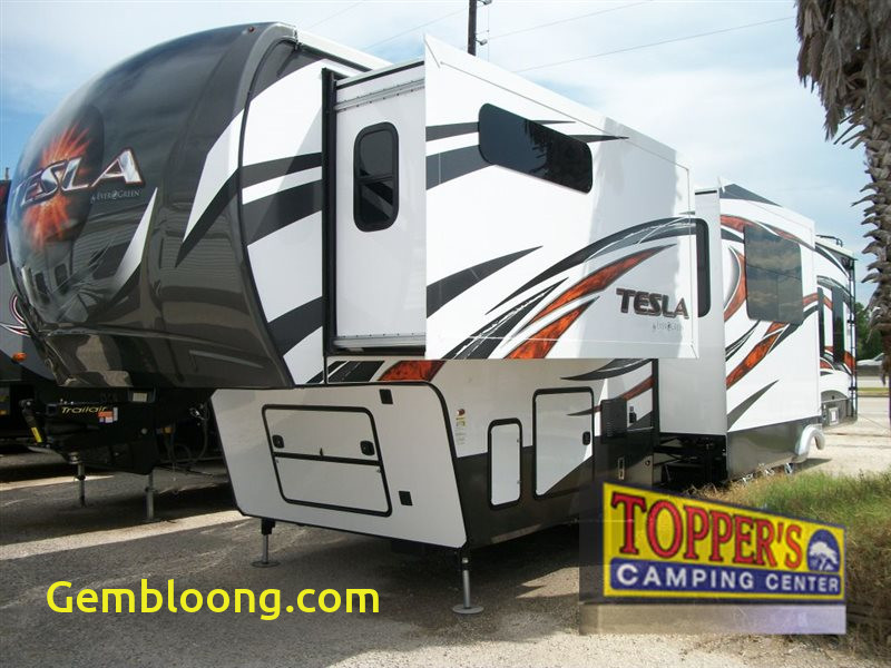 Tesla 5th Wheel Unique Evergreen Tesla 3950 Fifth Wheel toy Hauler Deal Of the
