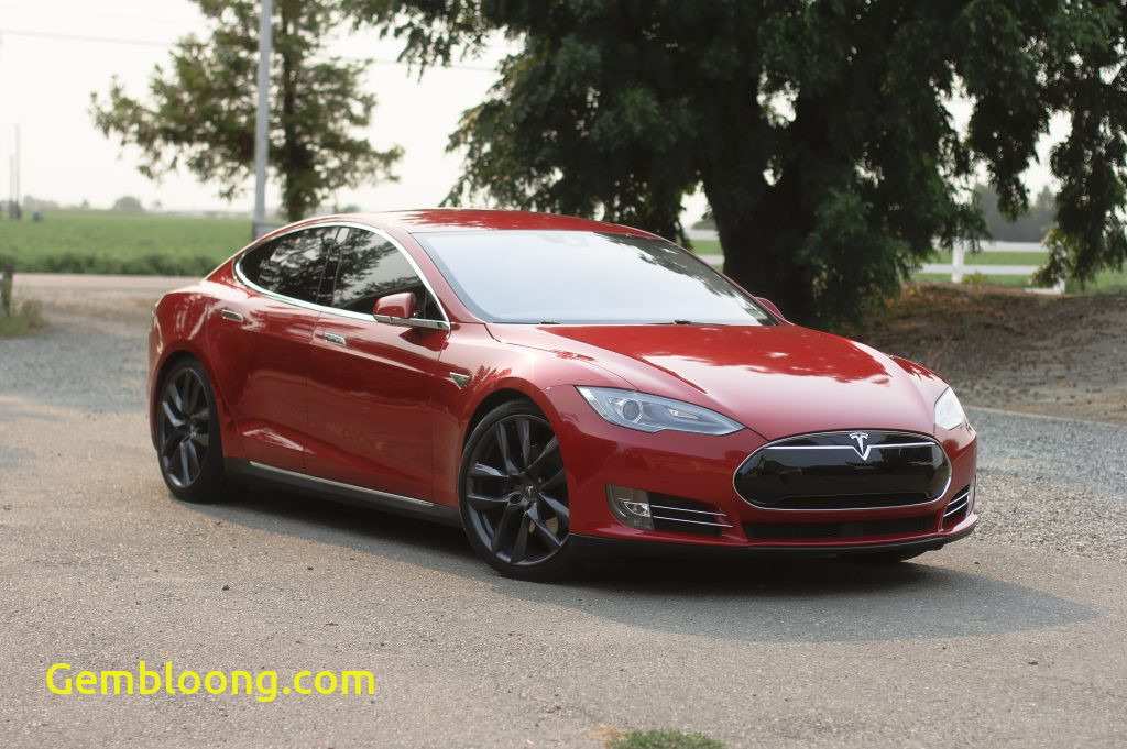 Tesla 85d 0-60 Awesome Model S 2015 Red 38a91 Only Used Tesla