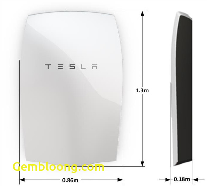 Tesla Battery Capacity Luxury Tesla Powerwall Home Battery Energy Storage Uk