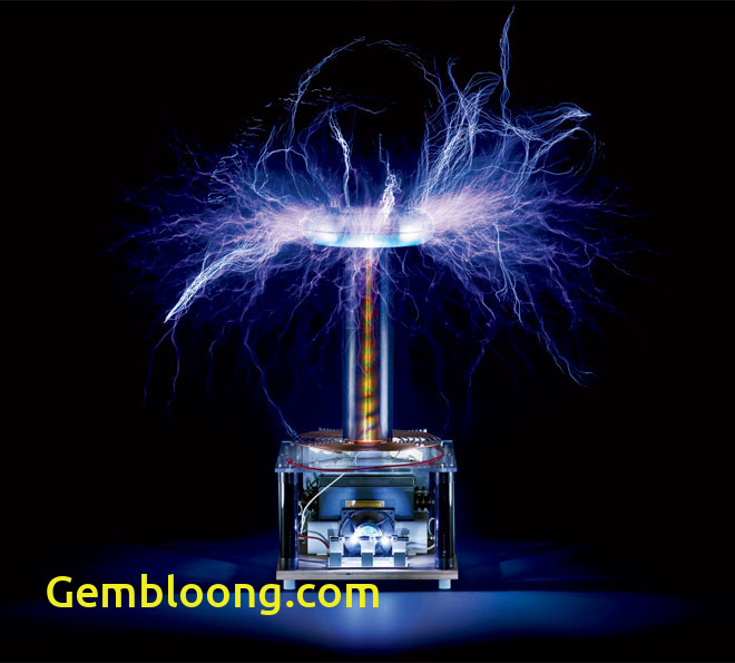 Tesla Coil Elegant Most Dangerous Object In the Office Btc40 Tesla Coil Wired