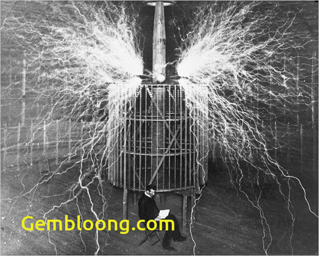Tesla Coil New A Cartoon Guide to Physics A Scientists Story 2 Nikola