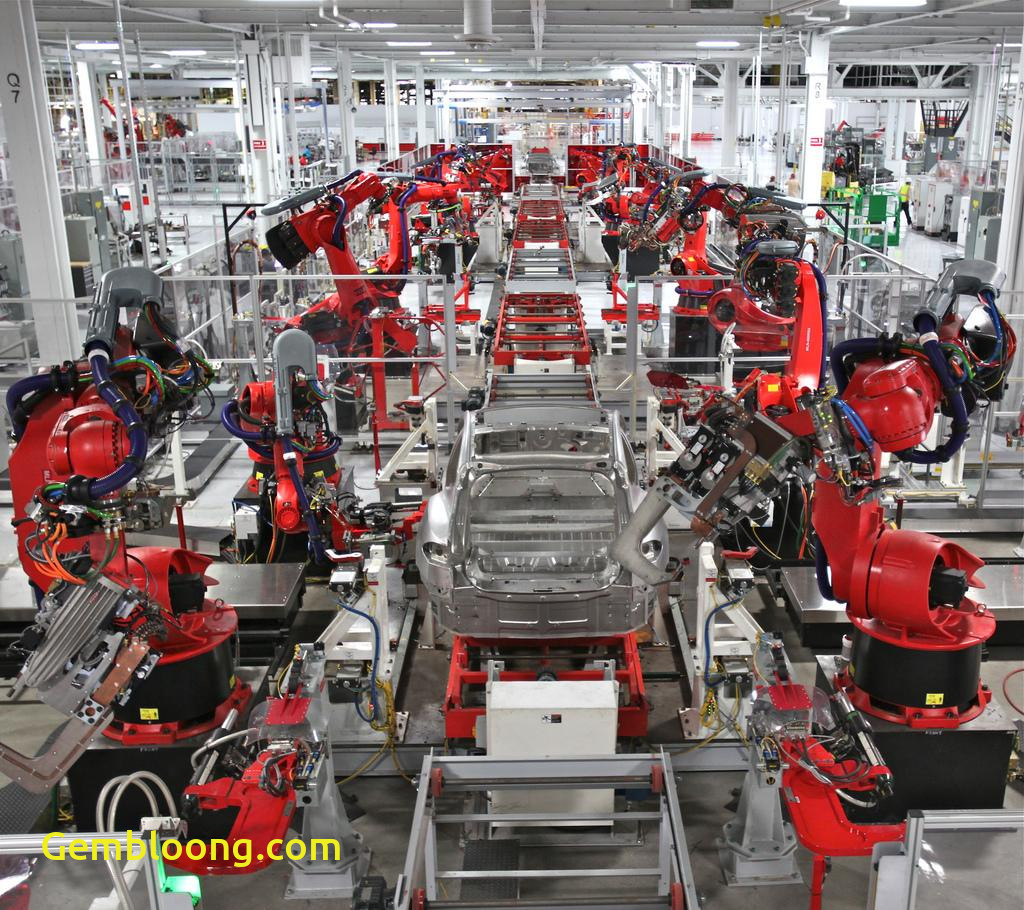 Tesla Factory Awesome Tesla Motors Idles California Plant to Prepare for Model X