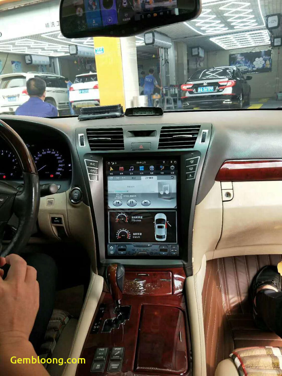 Tesla or Lexus New Tesla Vertical Style android Car Radio for for Lexus Ls