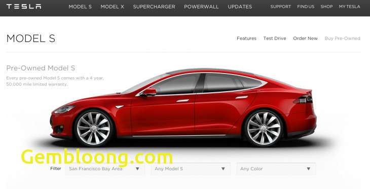 Tesla order Best Of Tesla Launches An Online Marketplace to Sell Used Model S