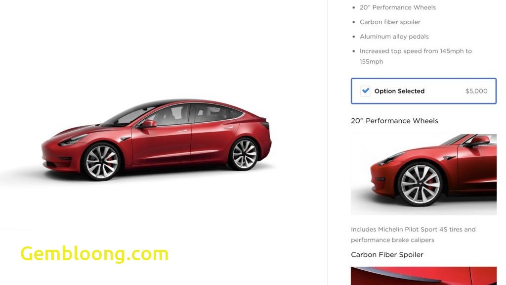Tesla order Lovely Tesla Model 3 order Guide Pricing Details Revealed for