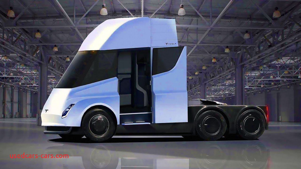 Tesla Semi Beautiful Tesla Semi Render Of First Electric Truck From Tesla Youtube