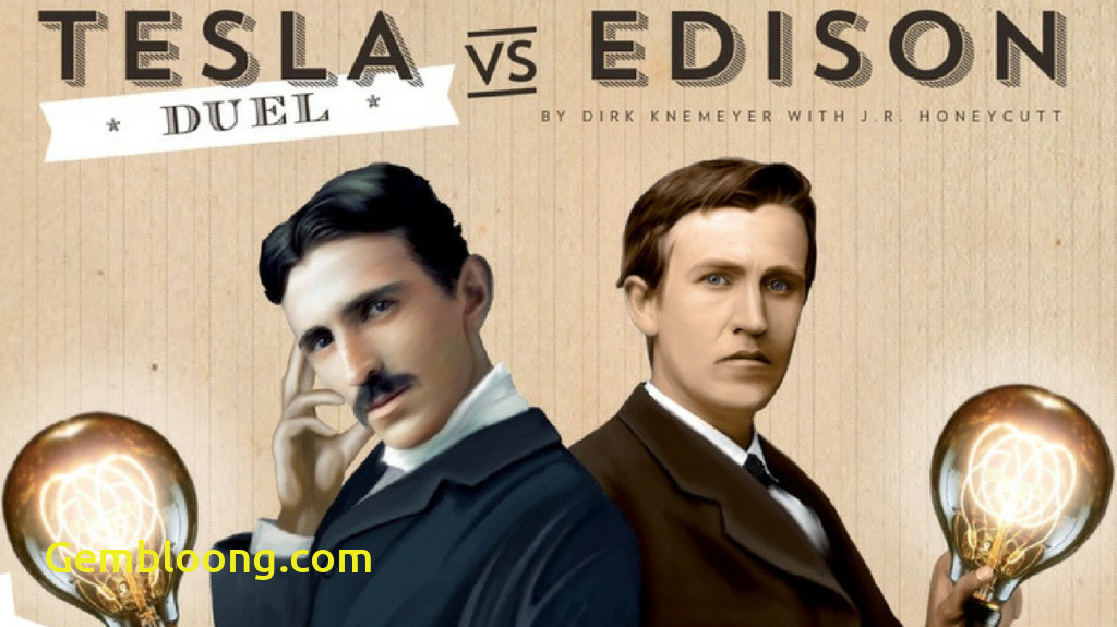 tesla vs edison duel brings the war of currents to the tabletop