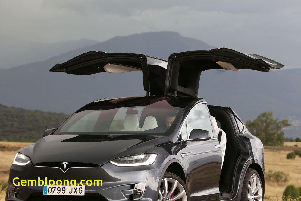 Tesla with Wings Awesome Falcon Wings Tesla Model X Periodismo Del Motor