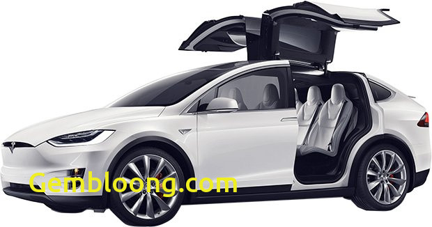 Tesla with Wings Beautiful Tesla Model X Electric Crossover Priced From 80000