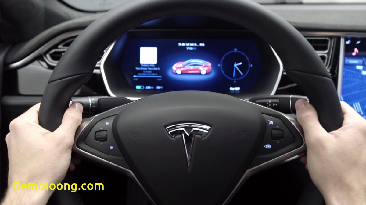 Tesla without Steering Wheel New Tesla Model S Redesign Features Photos Business Insider