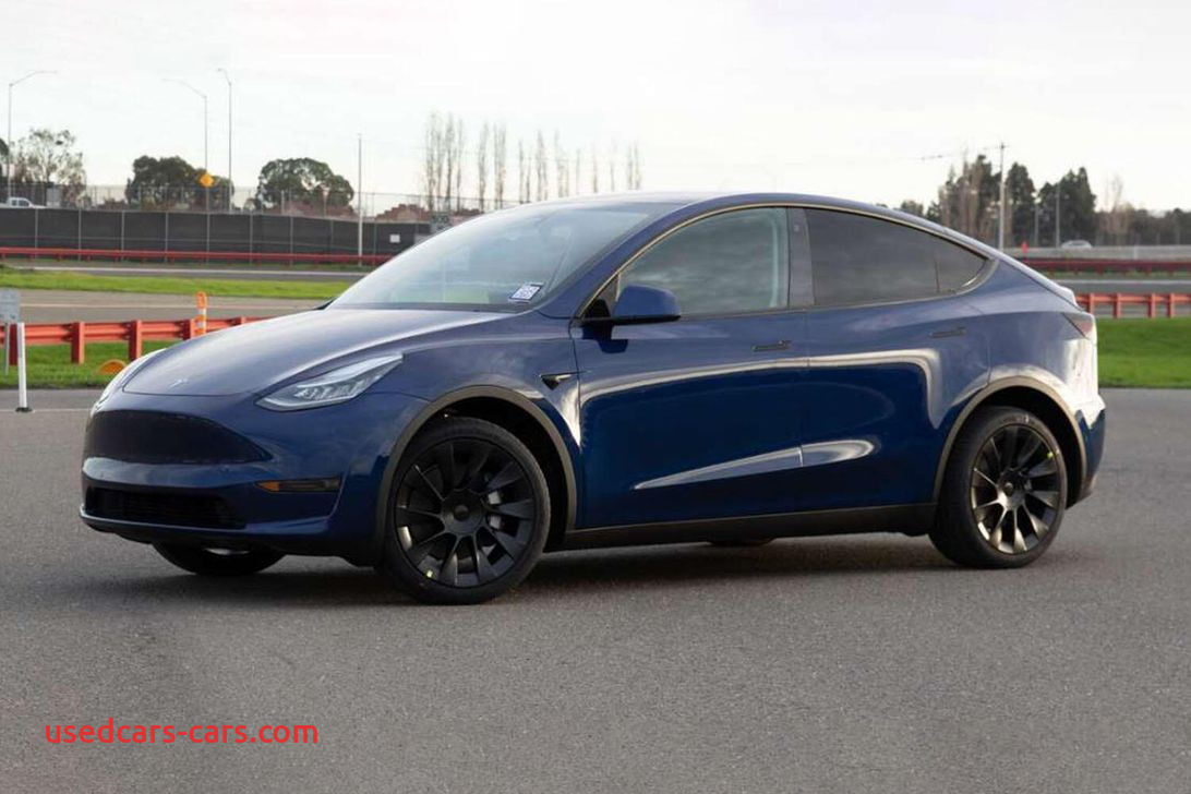 tesla model y shown in all its production related splendor