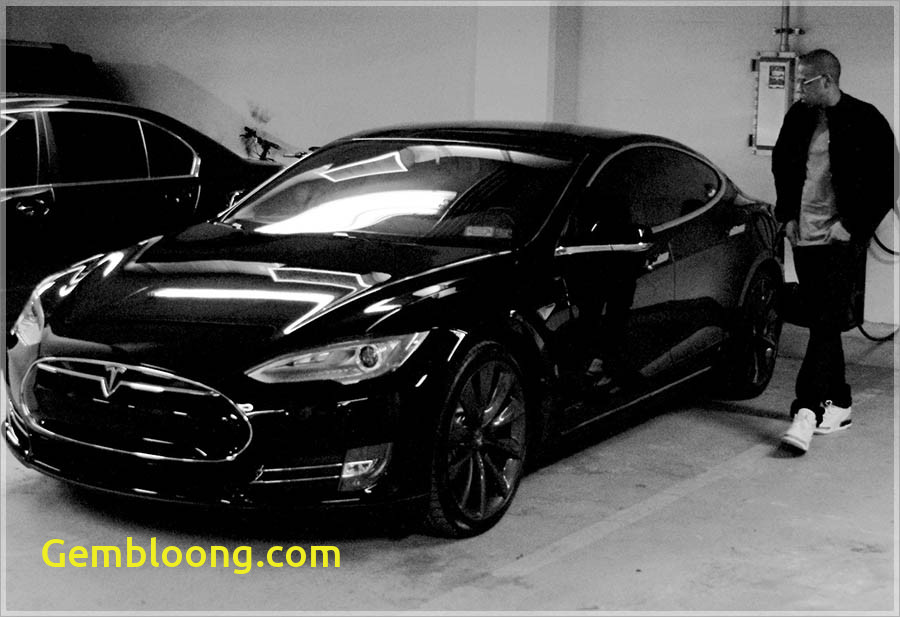 Tesla Z Fresh Jay Z Drives A Black On Black Tesla Model S Gas 2