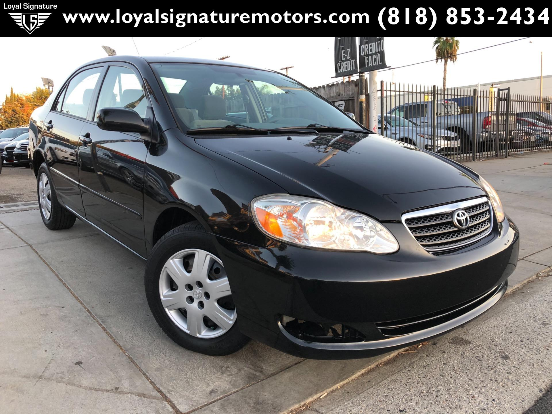 Used toyota Corolla Lovely Used 2006 toyota Corolla Le for Sale $5 995