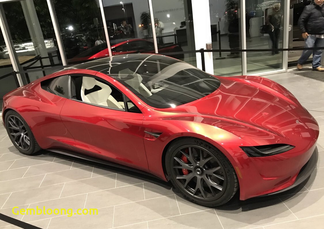 When Tesla Roadster Unique the Upcoming Tesla Roadster is A Dream Come True for Cgi