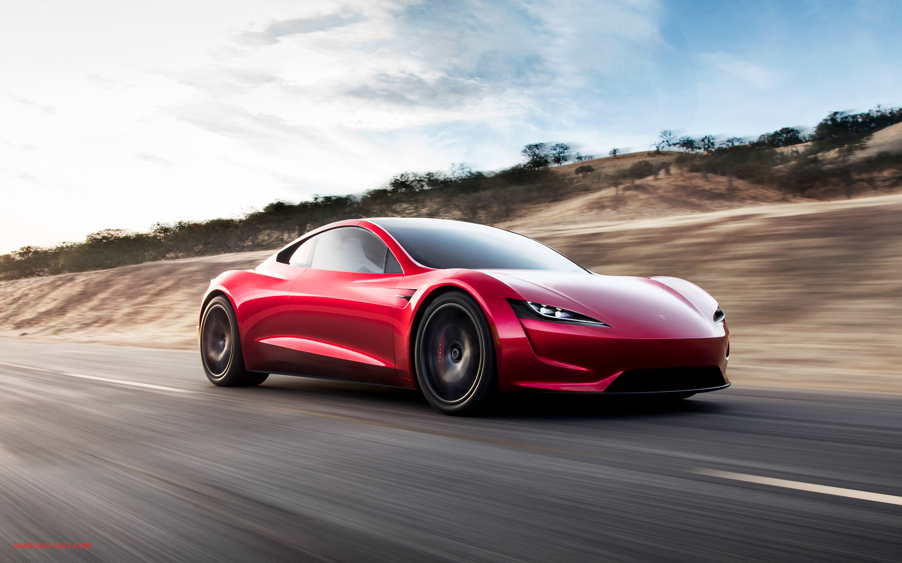 Where Tesla Car Made New Tesla Makes Surprise Debut Of Next Gen Roadster Pictures