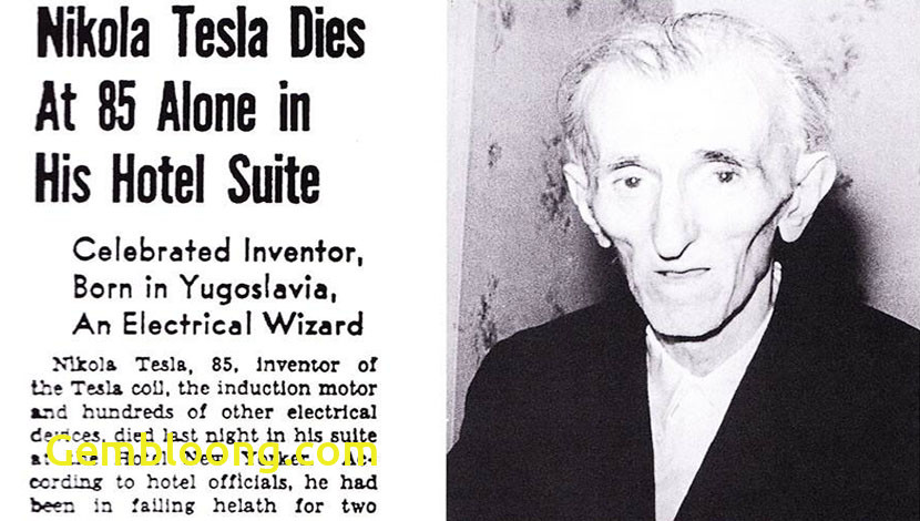 the lonely death and fantastic reincarnation nikola tesla