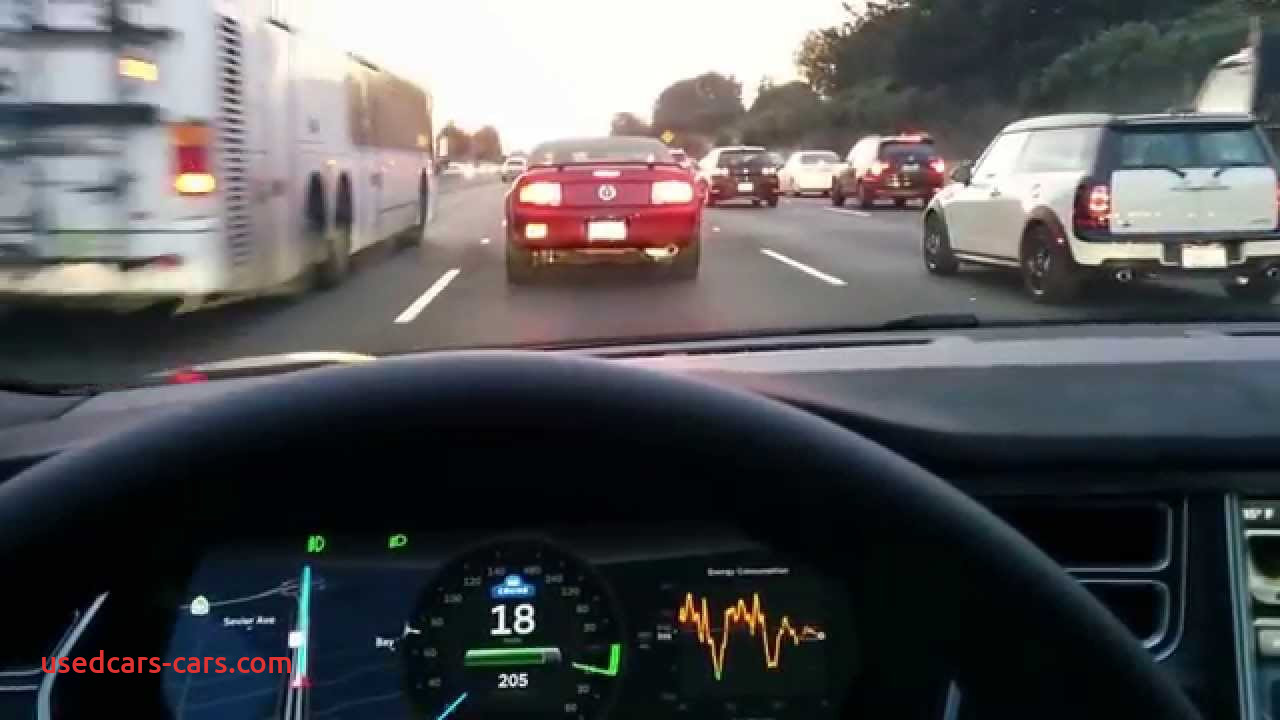 Which Tesla Has Autopilot Best Of Tesla Autopilot In Action Gas 2