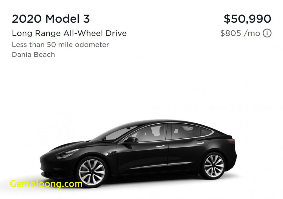 Which Tesla Has the Longest Range Beautiful 2020 Tesla Model 3 now Available A Week Early Evbite