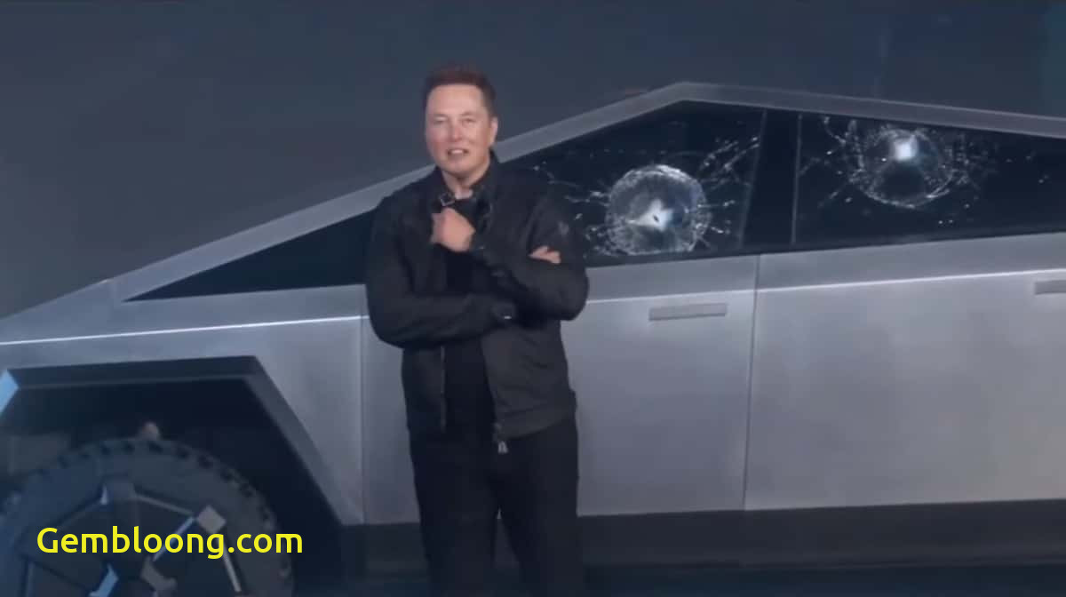 Why Tesla Glass Broke Fresh Teslas Super tough Glass Breaks On Stage During