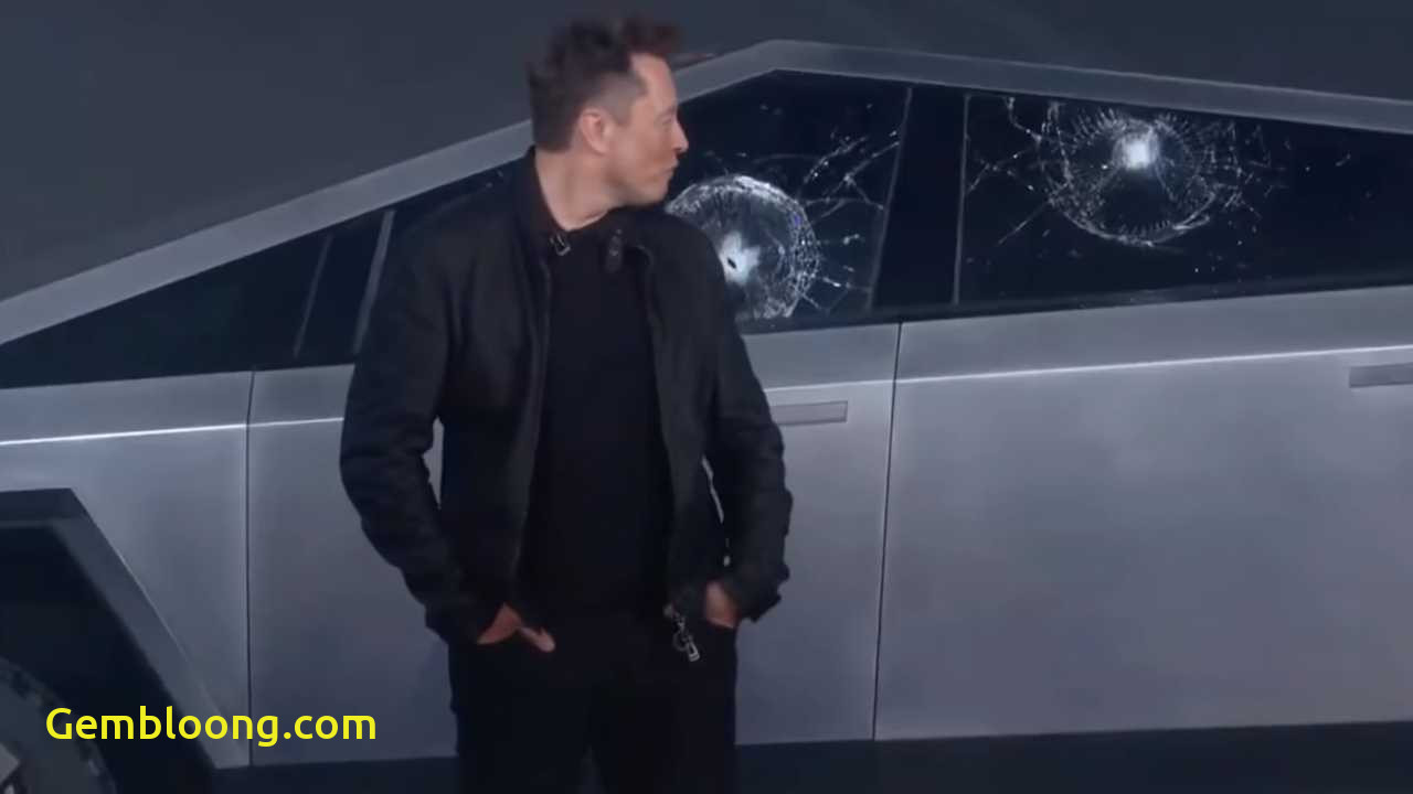 Why Tesla Glass Broke New Elon Musk Explains why Cybertruck Glass Broke Do You